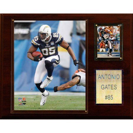 C Collectables NFL 12x15 Antonio Gates San Diego Chargers Player Plaque