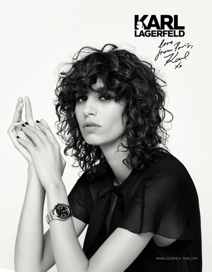 Mica Arganaraz stars in Karl Lagerfeld's fall-winter 2016 campaign