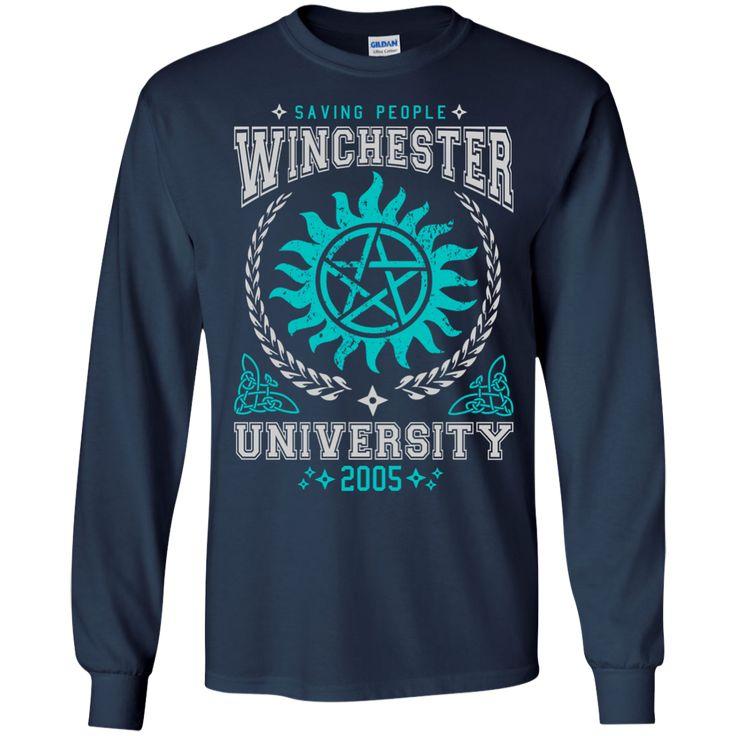 Winchester University Tee