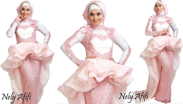 Evening Dress for muslimah,  garden journey collection