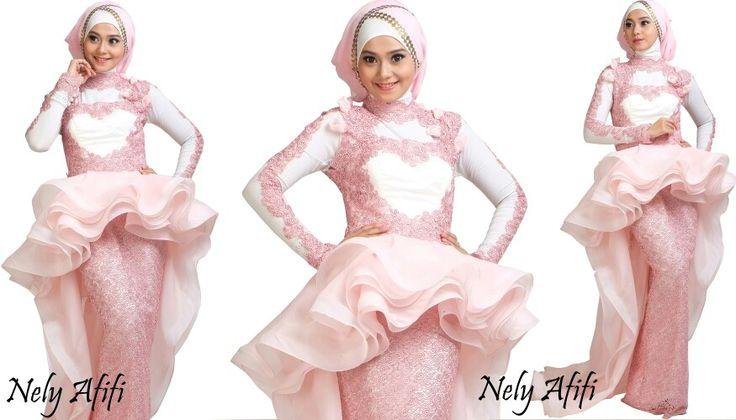 Evening Dress for muslimah,  garden journey collection