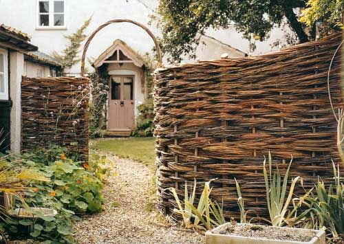 Willow fence
