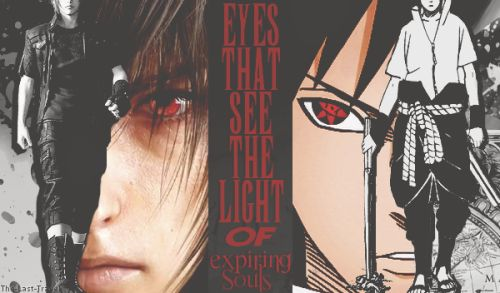 Noctis and Sasuke Game: Final Fantasy Manga: Naruto