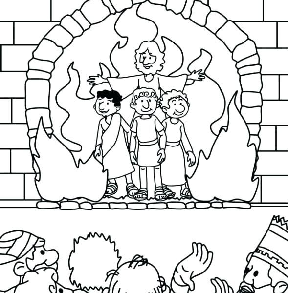 Image Result For Free Coloring Pages Of Daniel And The Fiery