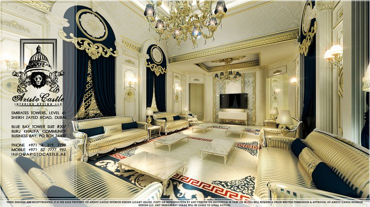 Victorian inspiration arabic majlis interior for Victorian villa interior design
