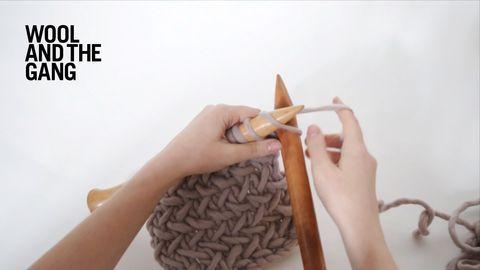 1 herringbone stitch