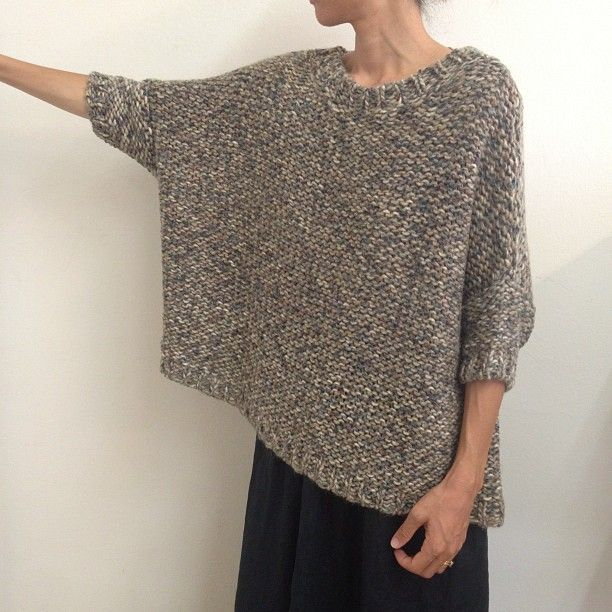 Black Crane Box Sweater