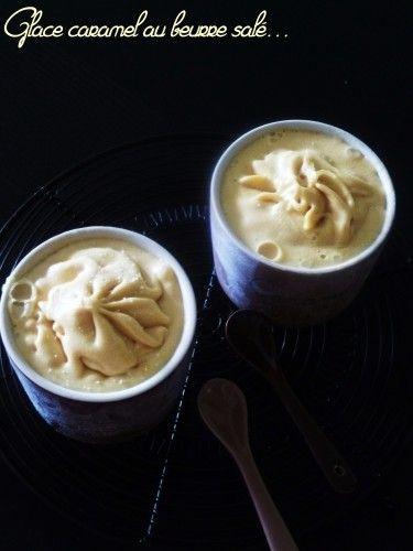 glace caramel au beurre salé