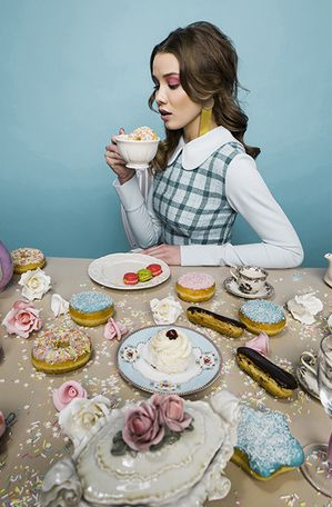 editorial photoshoot | sweets | more is love | donuts |
