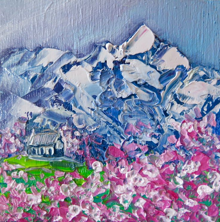 Mountain Blossoms - By Helen Blair http://shop.helenblairsart.co.nz