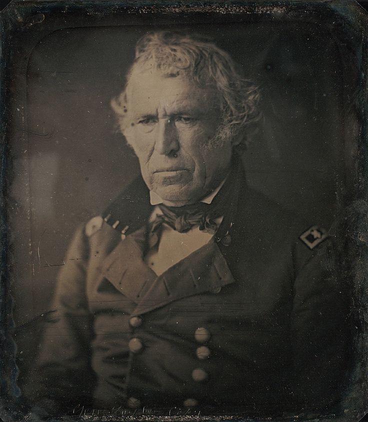 Zachary Taylor Daguerreotype by Mathew Brady