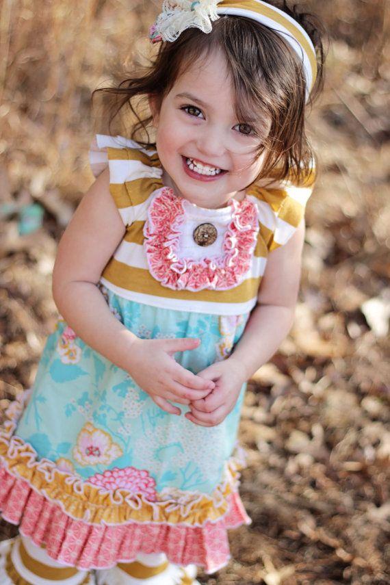 Reese Dress- boutique Girls dress- spring dress- Easter dress ...