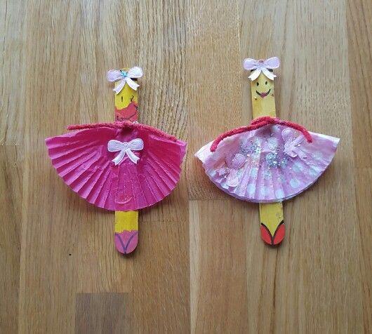 Icepop stick ballerinas