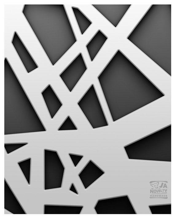 Abstract print Line art Geometrical line art by JAnoveltyDeSign