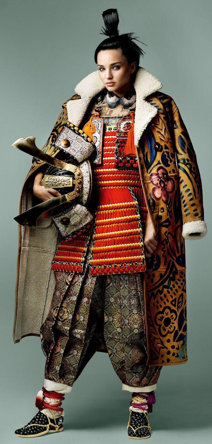 visual optimism; fashion editorials, shows, campaigns & more!: miranda kerr by mario testino for vogue japan november 2014