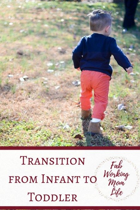 Transition from Infant to Toddler
