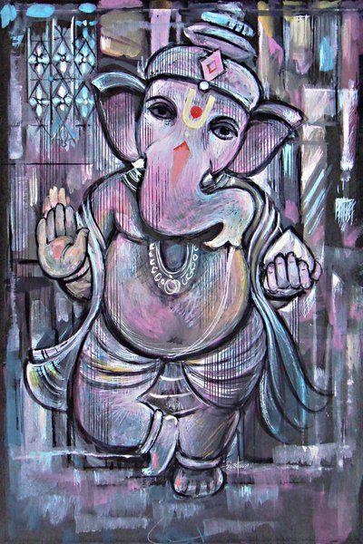Ganpati, Ganesha, Elephant God,Gajanan | art, ganesha, paintings, mantras, hindu prayers, books, drawings