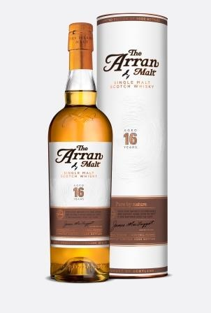The Arran Malt 16 Years Old, limited to 9000 bottles worldwide