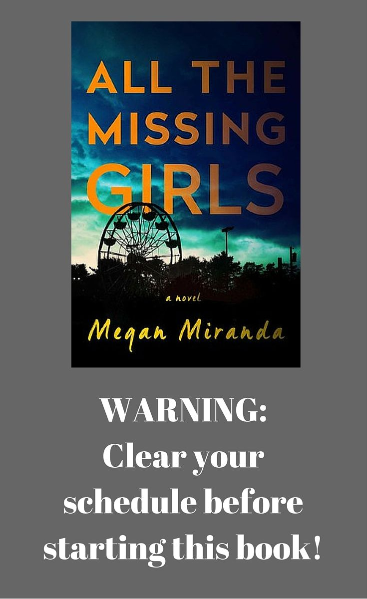 "My review on ""All the Missing Girls,"" a book I could not put down and wanted to skip social engagements to finish!"