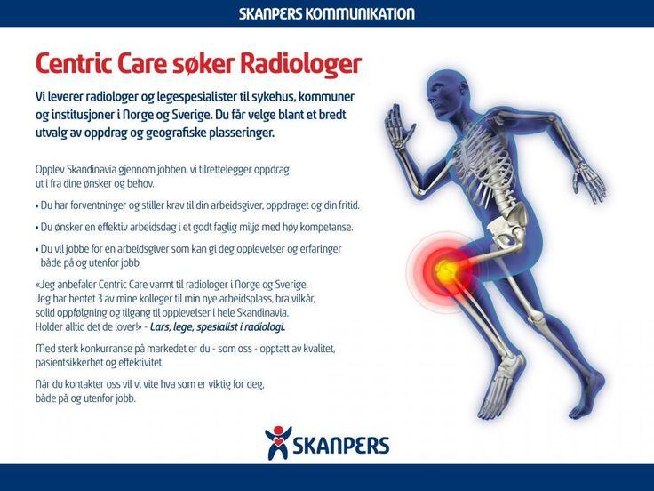Centric Care søker Radiologer| SkanPers.no