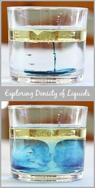 Cool Science for Kids: Exploring the Density of Liquids w/ Salt~ BuggyandBuddy.com