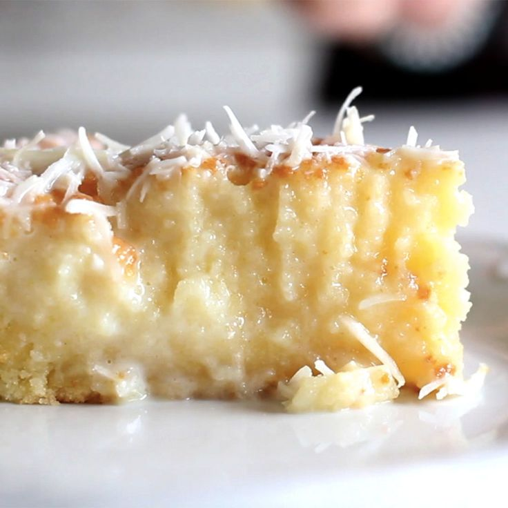 For all you coconut lovers out there - the perfect coconut cake.