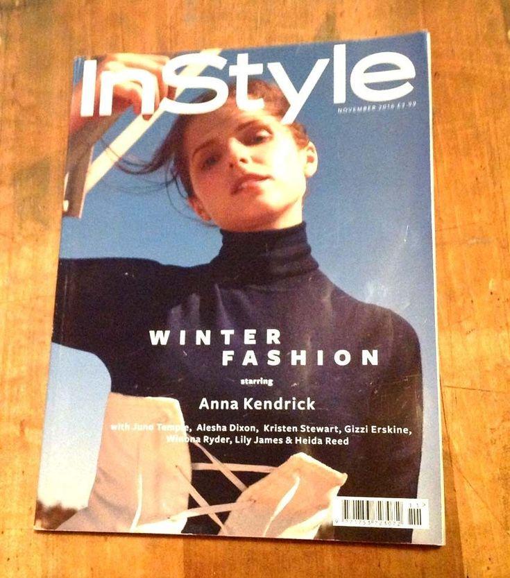 Anna Kendrick - InStyle Magazine – Fashion Nov 2016  - Good Condition  TWILIGHT