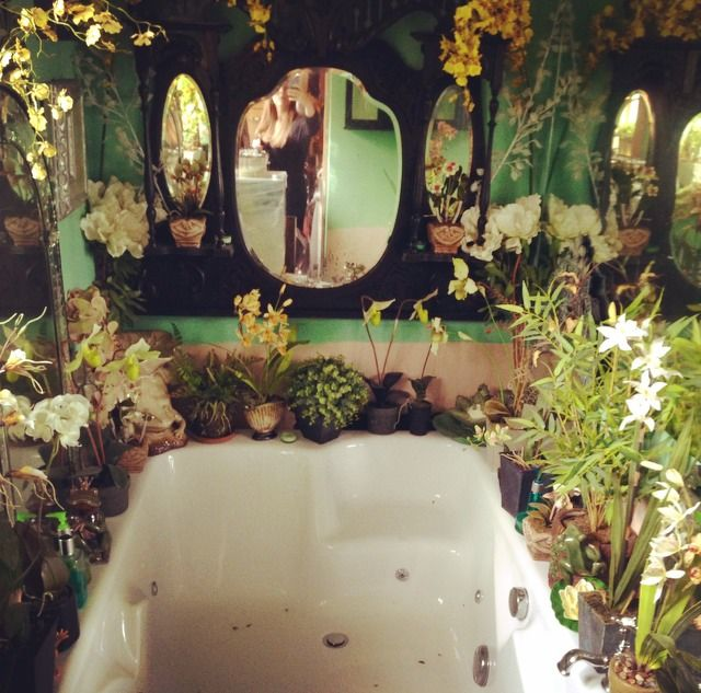 forest bathroom