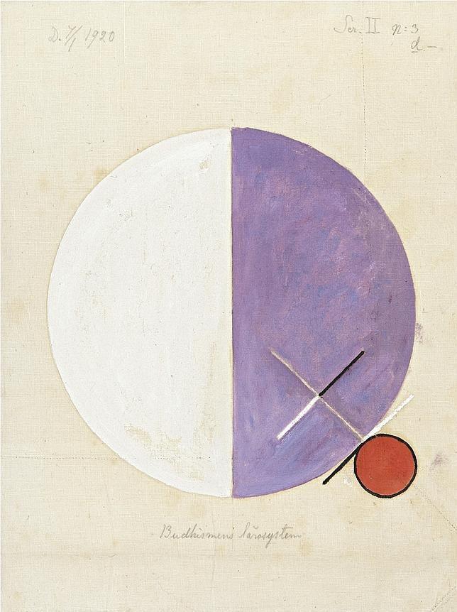 Hilma af Klint, pionera de la abstracción en un mundo de hombres - ABC.es