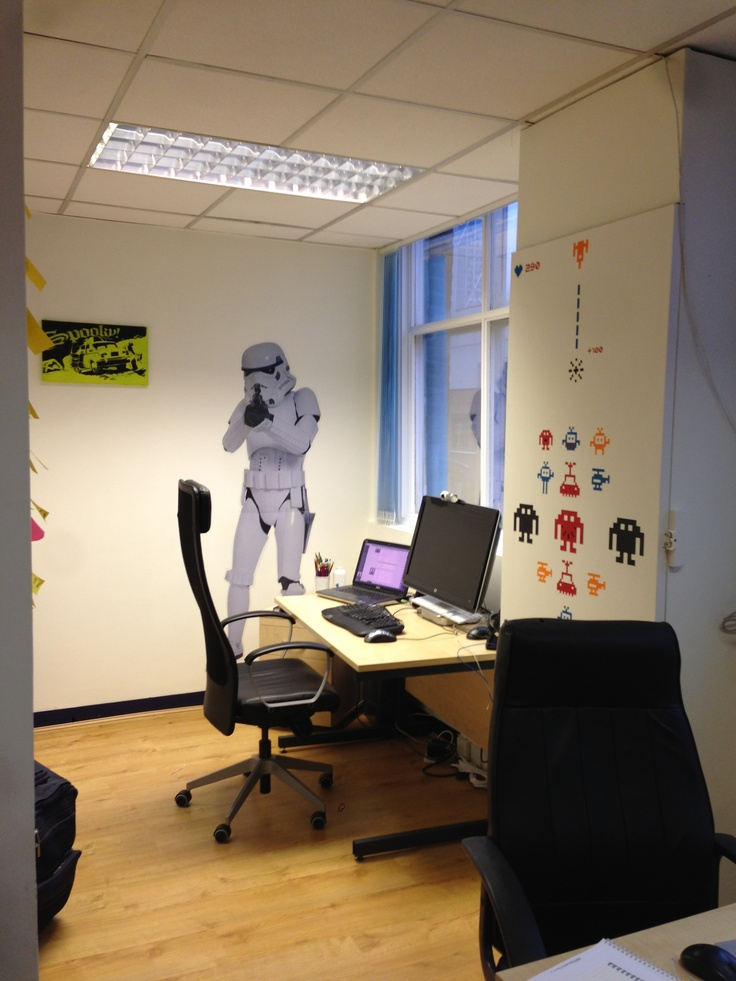 Office #4 geek corner