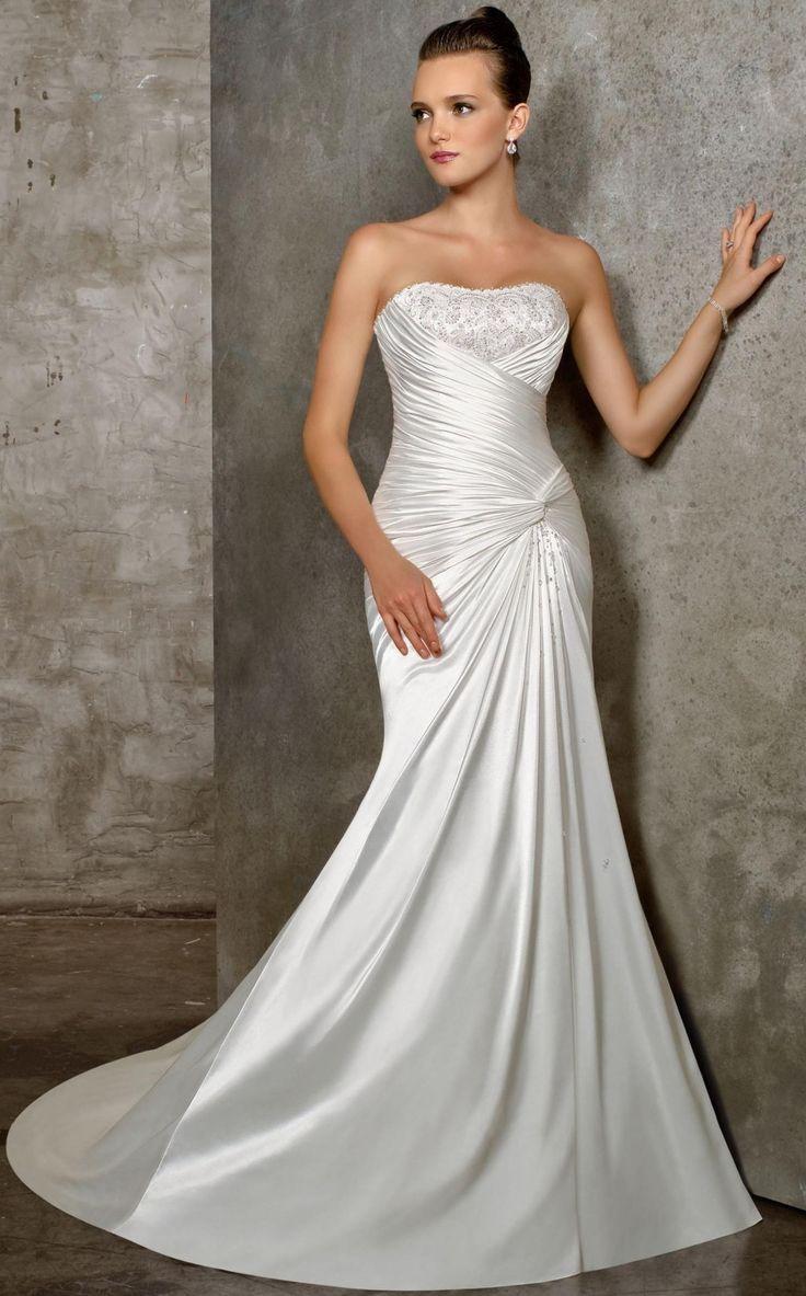 124 besten Wedding Dresses Bilder auf Pinterest | Hochzeitskleider ...