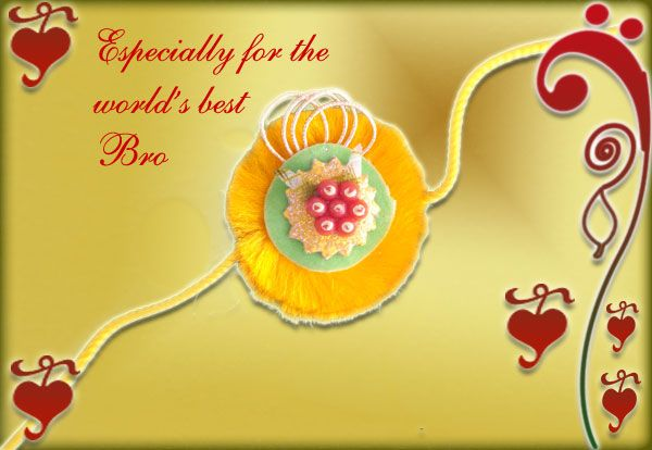 Happy Raksha Bandhan Greetings Cards - You can share these rakhi greeting cards with your siblings. Hope rakhi festival brings joy n happiness - festchacha.com