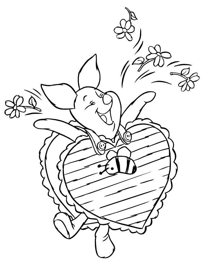 Free Printable Disney Valentine Coloring Pages Valentine Coloring Pages Valentine Coloring Disney Valentines