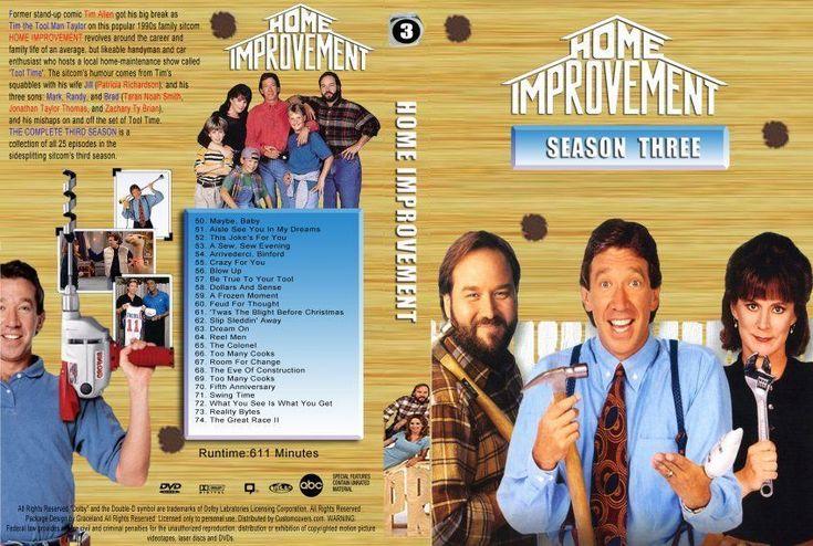 Home Improvement Season 3 DVD Cover - info on financing house improvements - topgovernmentgrants.com #homeimprovementdvd, #homeimprovementgrants,