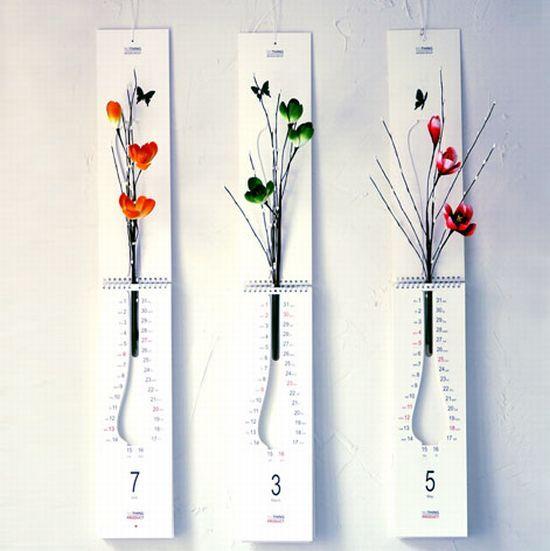 Flower pot calendar