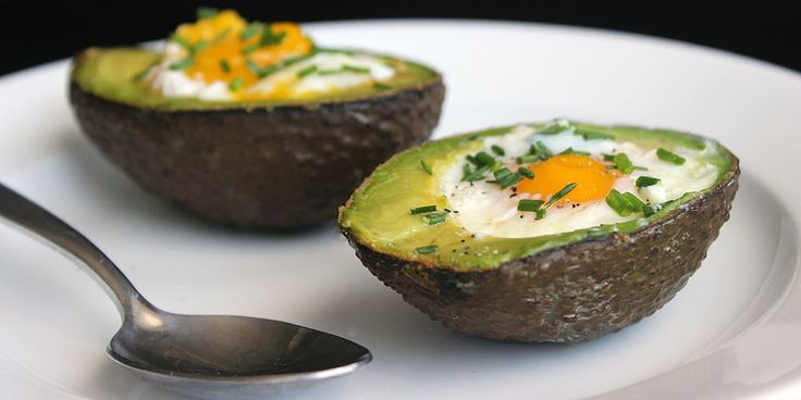 For a one-two punch of omega-3s in your breakfast, try baking eggs in an avocado. Beyond the heart-healthy fatty acids and high protein count, this low-sugar and fiber-filled breakfast will kick off your day on a healthy high note.            If you're.