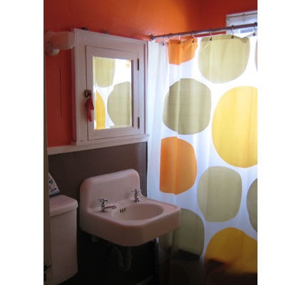 Thinking Orange For The Boys Bathroom
