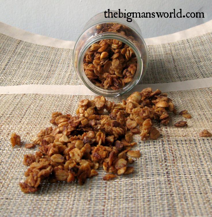 The best dark chocolate granola- #cleaneating #glutenfree #healthyfood