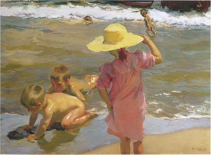 Seashore - Joaquín Sorolla -
