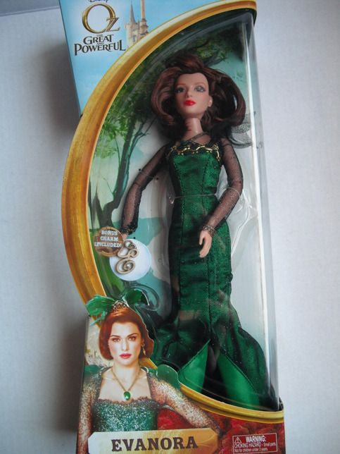 This beautiful Evanora doll will make a great addition to your Disney OZ The Great and Powerful. Makes a great gift.