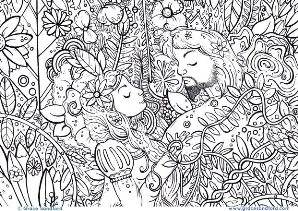 266 beste afbeeldingen van arte terapia for Grace coloring page