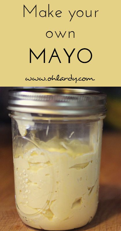Learn how to easily make healthy mayo in your own home