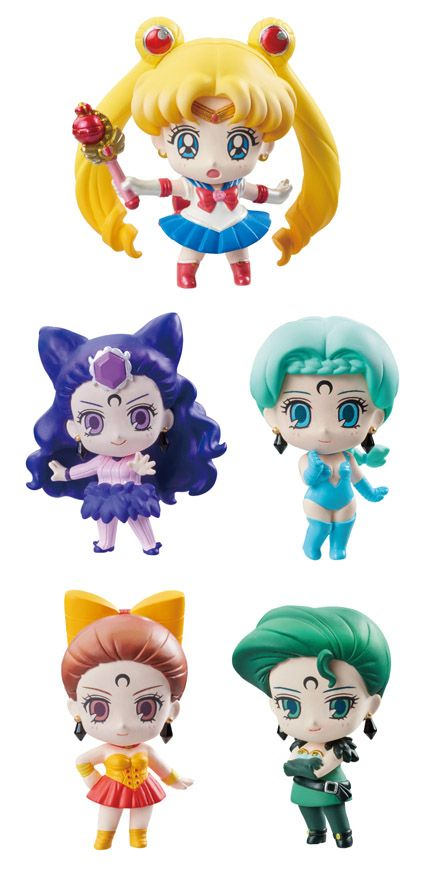 You wanted the Four Sisters, here they are! Stay tuned for shopping links! http://www.moonkitty.net #SailorMoon #Anime #Japan