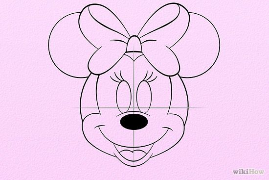 Drawing Lines With Mouse C : How to draw minnie mouse and mice