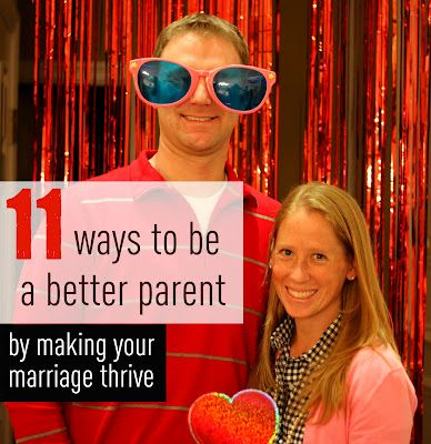 Being a great parent starts with a great marriage