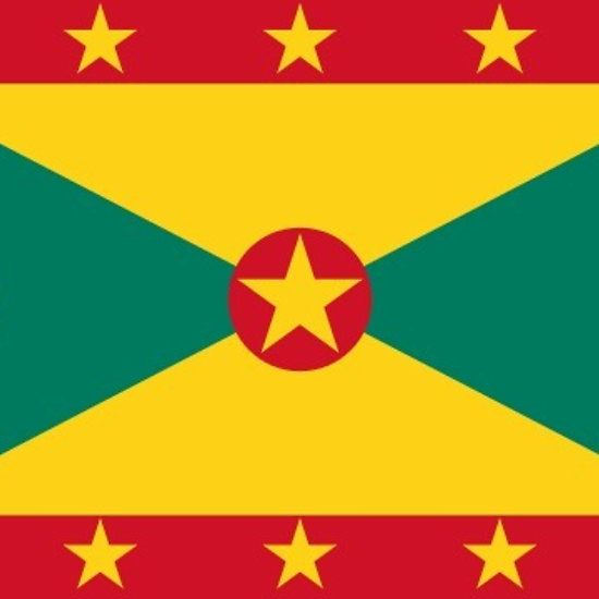 Grenada Flag Stickers