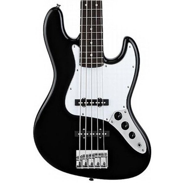 Squier Affinity 5-String Jazz Bass Black