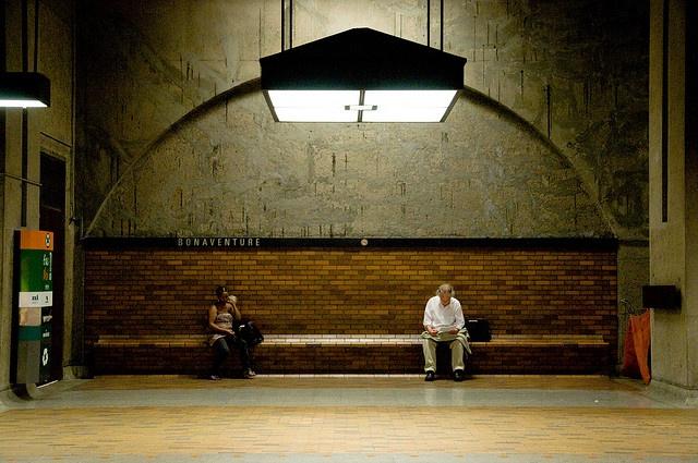 Bonaventure metro station, Montreal