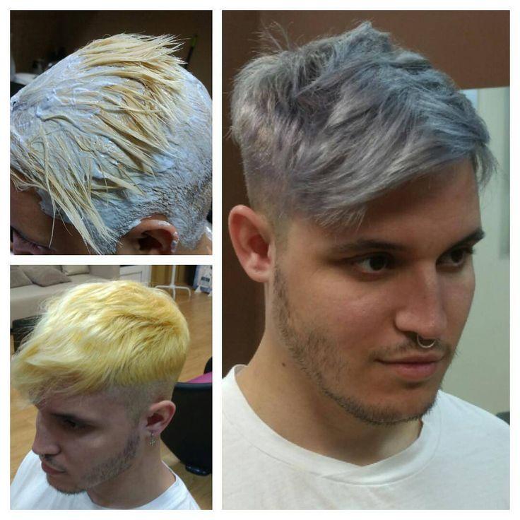 """95 Me gusta, 5 comentarios - RubenDuat, peluquería&estética (@rubenduat) en Instagram: """"Cabello gris! Muy ceniza, platino, blanco o cualquier tonalidad pastel... Son colores difíciles de…"""""""