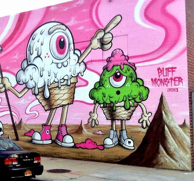 Street Art Character Design : Best images about monsters character designs on